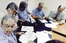خلال أحد اجتماعات الرابطة (أرشيف ـ بلال جاويش)