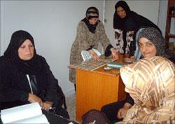 نساء عربصاليم في مقر الجمعية