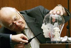 خبير جنائي في محكمة في الولايات المتحدة (أرشيف ــ  أ ب)