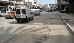 شارع في الميناء متضرر من الحفريات  (الأخبار)