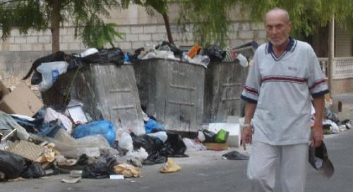 استوطنت النفايات اماكن غير مخصصة لرميها (الاخبار)
