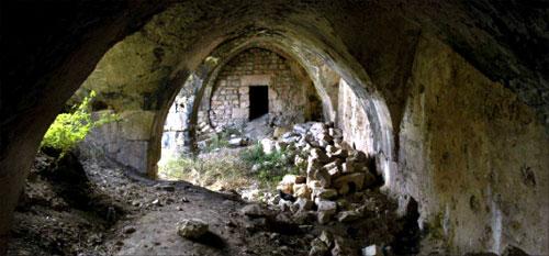جانب من القلعة