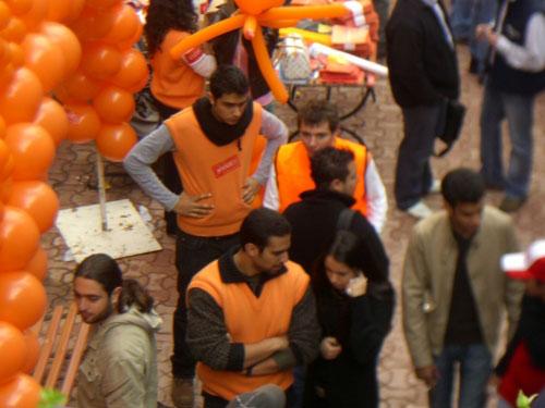 من الحملة الانتخابية في جبيل