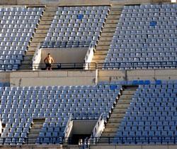 الكراسي الشاغرة في أيلول 2007 (أرشيف- علي محمد)