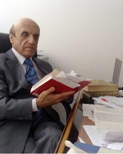 يوسف سعدالله الخوري الرئيس السابق لمجلس شورى الدولة (أرشيف)