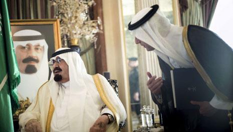 كوكس أبلغ ابن سعود بلهجة قاطعة أنه هو من سيخطط الحدود بنفسه (أرشيف)