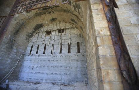 مدخل النفق من الجانب اللبناني (علي حشيشو)