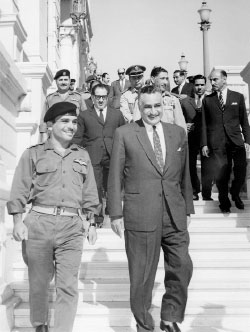 لم يغفر آل سعود بعد لعبد الناصر لما ألحق بهم من إذلال ومهانة وتحقير قبل ١٩٦٧ (أ ف ب)