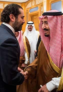ليست صدفةً أنه فور اختفاء حبيب العادلي تم احتجاز سعد الحريري (أ ف ب)