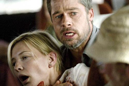 براد بيت وكايت بلانشيت في مشهد من الفيلم