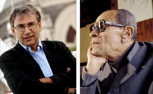 """معرض القاهرة من """"نوبل"""" المصري الراحل... الى """"نوبل"""" التركي 2006"""