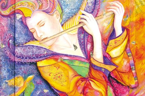 """""""انخطاف""""- لوحة لشانتال غاليانا"""