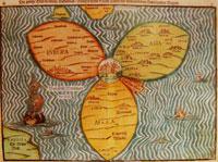 «القدس في مركز العالم» خريطة من أواخر القرن الرابع عشر