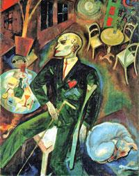لوحة لجورج غروز (برلين ــ 1916)
