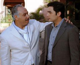 هاني سلامة وخالد صالح في مشهد من الفيلم