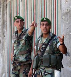 جنديّان من الجيش في البقاع (أرشيف)