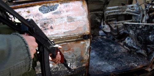 تفلت السلاح يودي إلى مشاكل كبيرة  (مروان  طحطح)