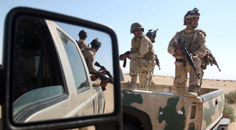 أكثر من 4000 عنصر من الحشد الشعبي شار كوا مع الجيش العراقي في العملية(أ ف ب)