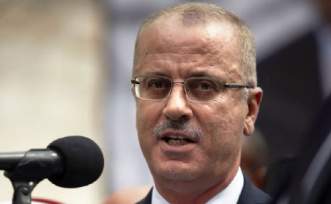 رهن الحمدالله إكمال مهمة الحكومة بسيطرته أمنياً على غزة (الأناضول)
