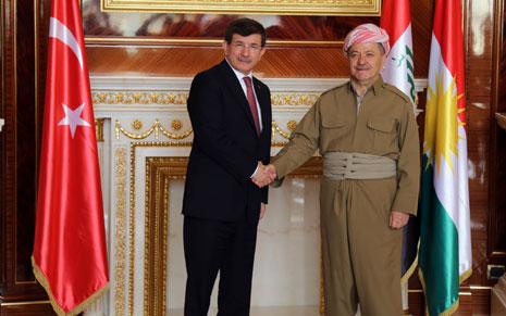 أكد رئيس الحكومة التركية أن بلاده ستزيد الدعم الأمني الذي تقدمه إلى إقليم كردستان بما فيه التدريب (الأناضول)