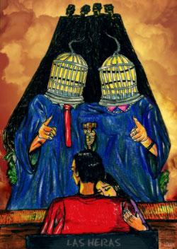 لوحة للفنانة الارجنتينية اليزابيت درابكن