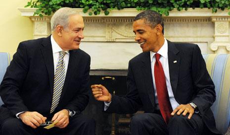 أعلن البيت الأبيض أمس أن أوباما لن يستقبل نتنياهو خلال زيارته واشنطن (الأخبار)