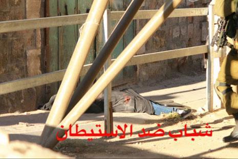 من توثيق «شباب ضد الاستيطان» لقتل هديل الهشلمون (الأخبار)