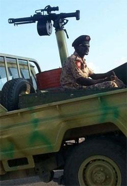 صور لإنتشار القوات السودانية في عدن (الأخبار)