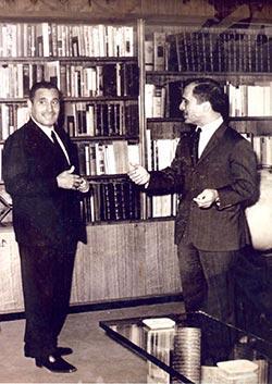 مع الملك حسين