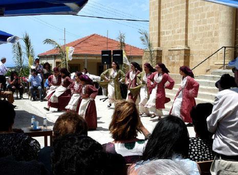 احتفال ماروني في كورماكيتيس