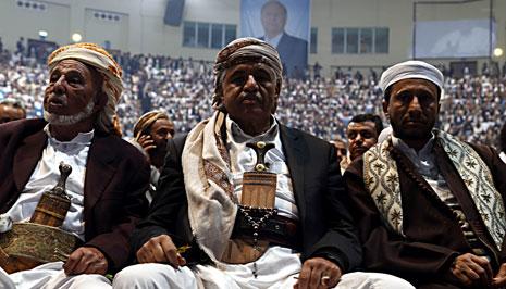 كان الحوثي يدعو عناصر الجماعة إلى تجاهل الهيئات الدولية(الأناضول)