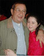 """نور الشريف مع ابنته مي في """"الدالي"""""""