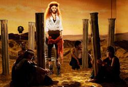 ميريام في كليب «مكانه وين» (أنور عمرو – أ ف ب)