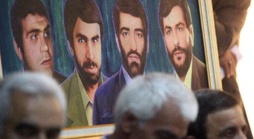 مؤتمر صحافي للاسرى الايرانين (هيثم الموسوي)