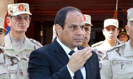 «التحالف» يدشن «أسبوعاً ثورياً: العسكر يبيع سيناء» (أ ف ب)