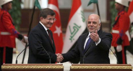 اتفقت بغداد وأنقرة على تبادل المعلومات الاستخبارية في مواجهة «داعش» (الأناضول)