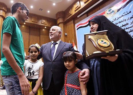 العبادي: لولا فتوى السيستاني كدنا نخسر العراق (من الموقع الرسمي لرئيس الوزراء)