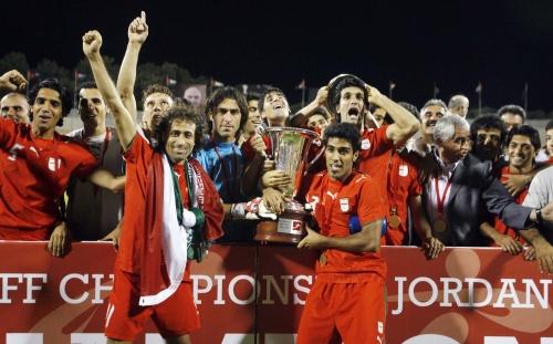 المنتخب الإيراني وفرحة الفوز بلقب غرب آسيا (محمد علي)