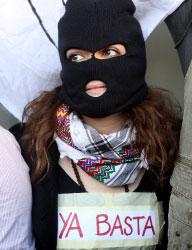 اعتصم الطلاب دعماً لـ«زاباتيستا» المكسيكيين (مروان طحطح)