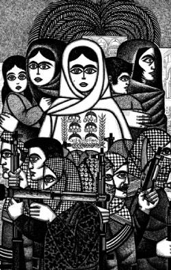«كلنا مع فلسطين» (1971) للسوري برهان كركوتلي (تفصيل)