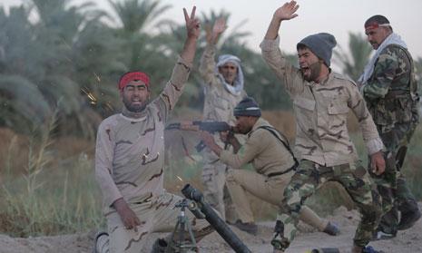 نجاح العملية سيساهم في إبعاد الخطر عن بغداد وفي تسهيل الطريق لتطهير محافظة الأنبار بأكملها (أ ف ب)