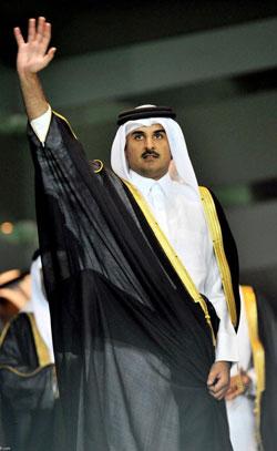عيّن أمير قطر أخاه غير الشقيق عبد الله بن حمد نائباً له (أرشيف)