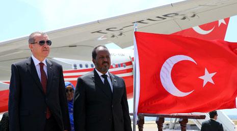 أكد الرئيس الصومالي أن تركيا حققت فجراً جديداً لبلاده(الأناضول)