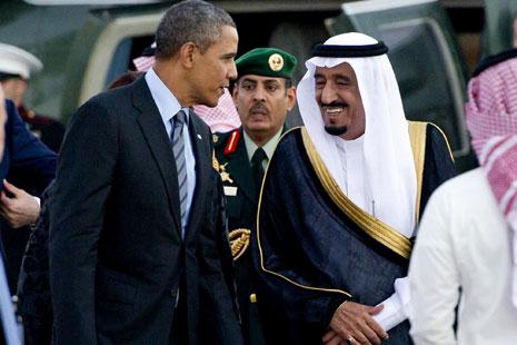 سيبحث أوباما مع سلمان «على الأرجح» الحرب على «داعش» والأزمة السياسية في اليمن (أرشيف)