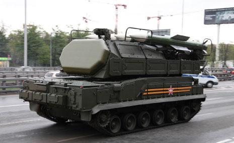 نظام بوك ام-2، براداره الجديد، خلال عرض عسكري في موسكو