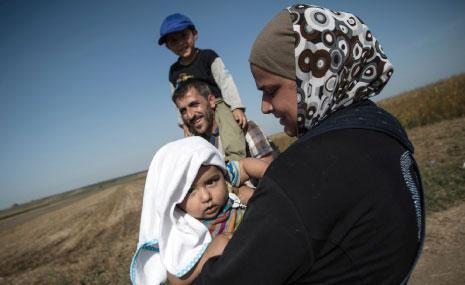 استقبلت اميركا حوالى 1500 لاجئ سوري منذ بدء الأزمة في سوريا (الأناضول)