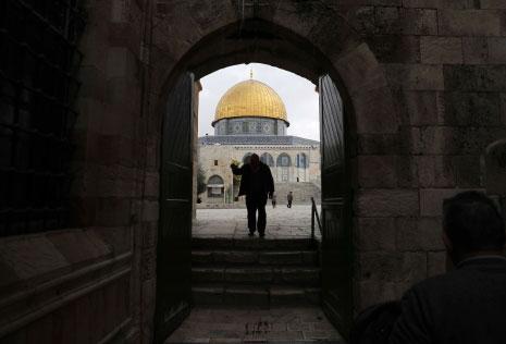 حشر الاحتلال السكان الفلسطينيين في ١٣ في المئة من مساحة القدس (أ ف ب)