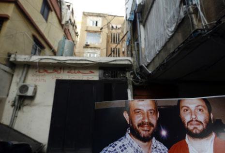 مكتب فتح في الشياح، حيث أمضى الشهيدان عماد مغنية وعلي ديب مرحلة من شبابهما (مروان طحطح)