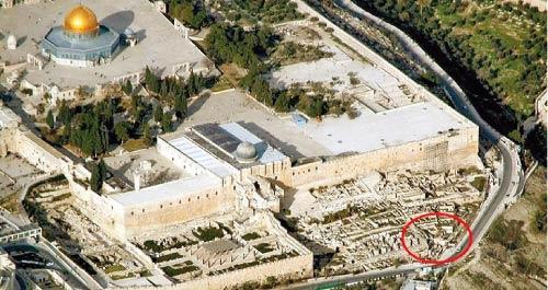 موقع الحفريات الجديدة في القدس