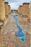 فسيفساء قصر هشام في اريحا